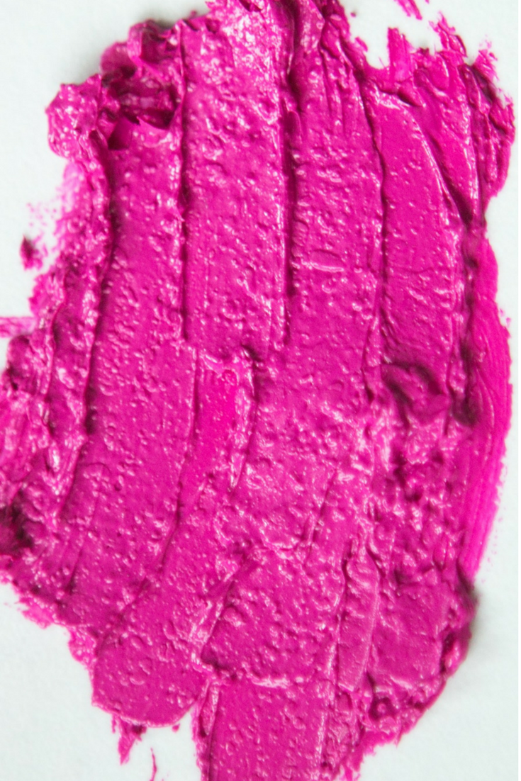 Aromi Azalea Lipstick Swatch | Hot Pink with Blue Undertones