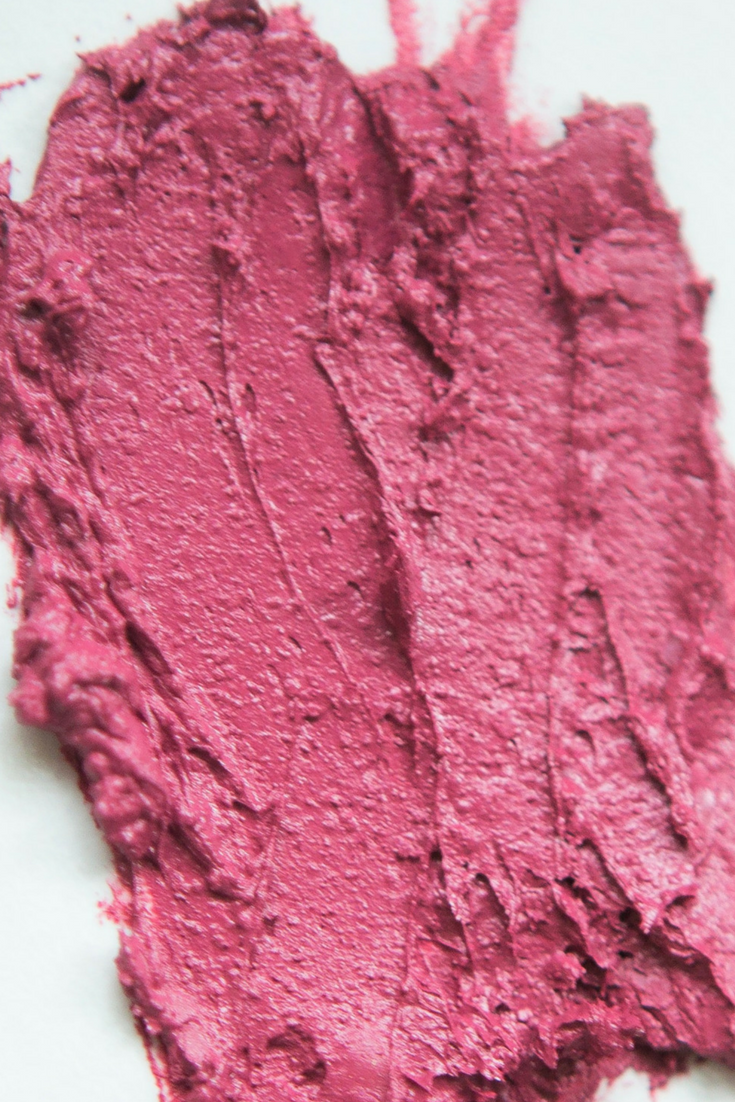 Aromi Dusty Rose Lipstick Swatch