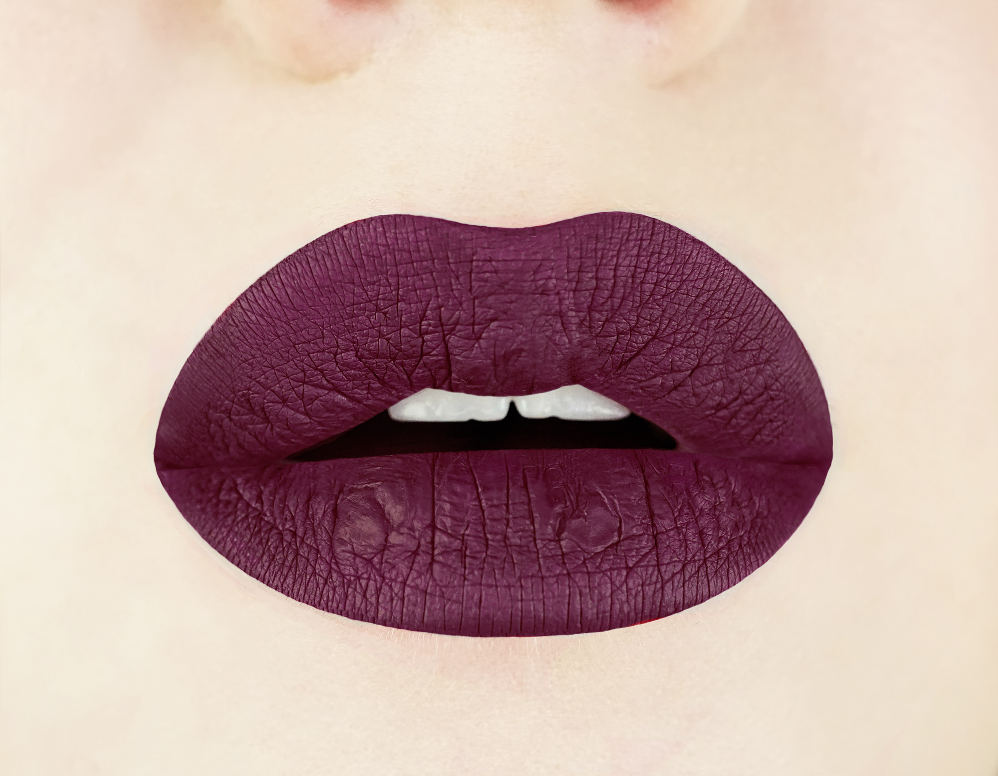Lip Swatch of Black Cherry