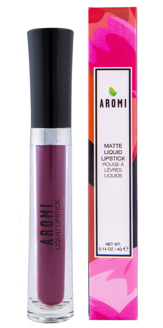 Aromi Black Cherry Matte Liquid Lipstick