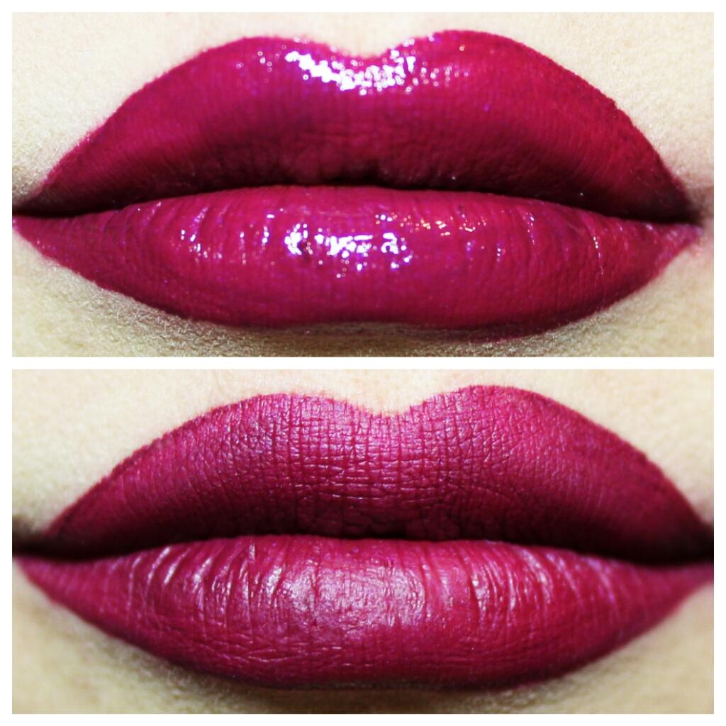 forbidden fuchsia liquid lipstick