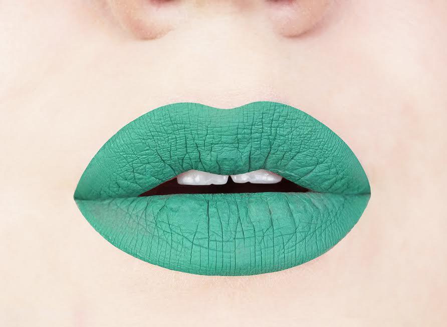 Aromi Jade Green Liquid Lipstick