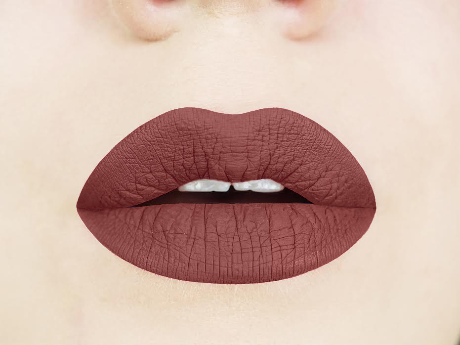 Magnetic Mahogany - Brown Liquid Lipstick