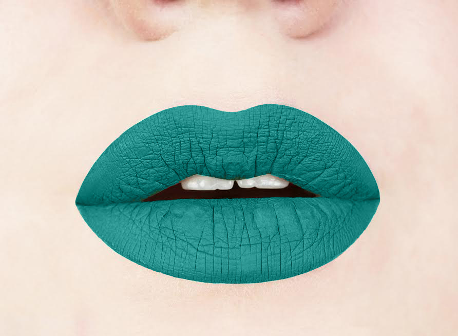 Aromi mermaid vibes liquid lipstick swatch