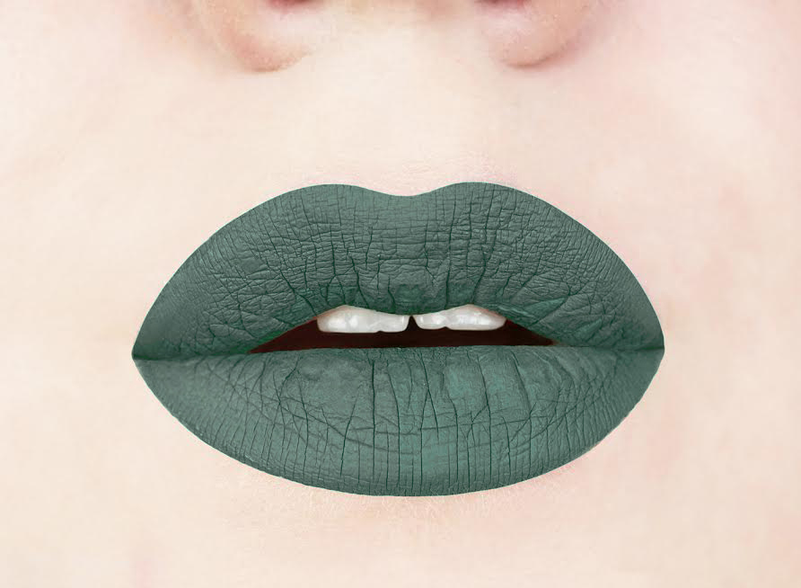 Olive you matte liquid lipstick swatch