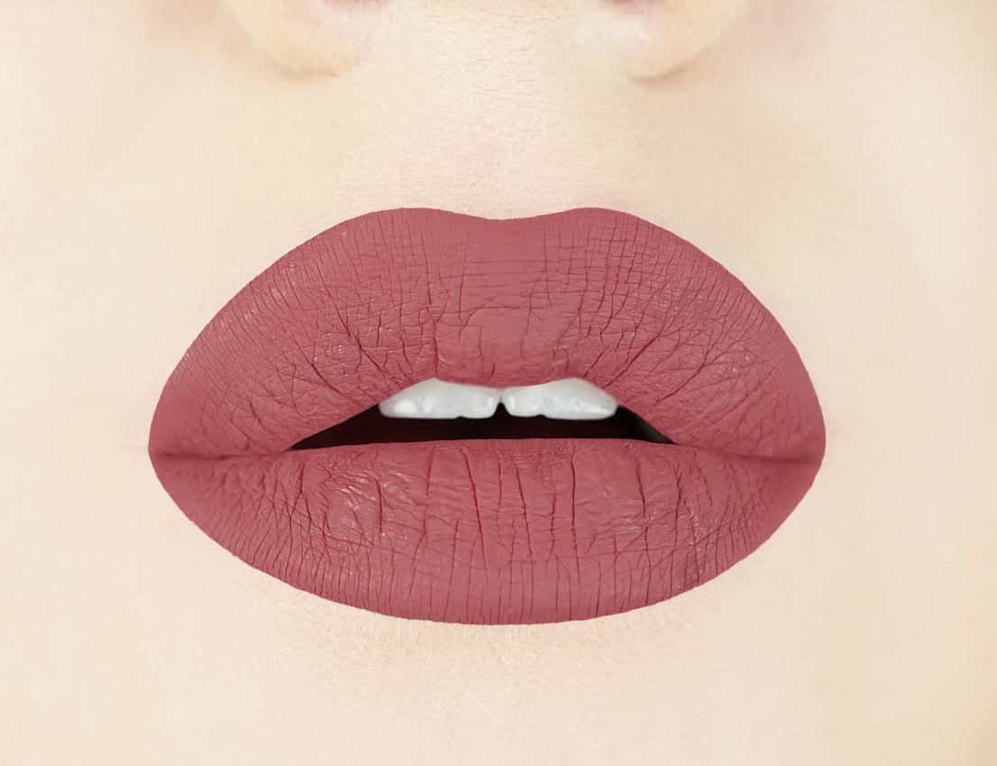 Stella Rosea Liquid Lipstick Swatch