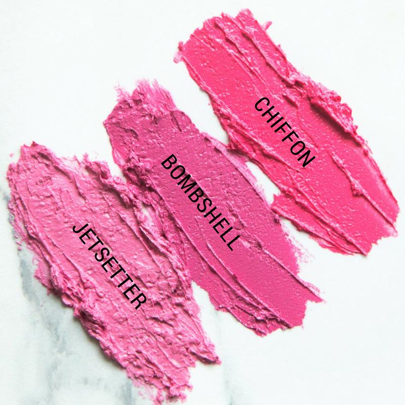 Aromi Pink Lipstick Shades